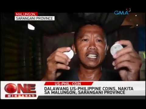 One Mindanao: U.S.Philippine Peso Coin Nakita sa Malungon, Sarangani