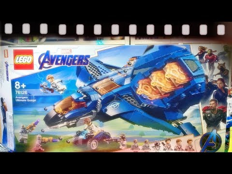 [Lego Live] 레고 76126 엔드게임 얼티밋 퀸젯 조립 리뷰 - 마블 슈퍼히어로즈 어벤져스
