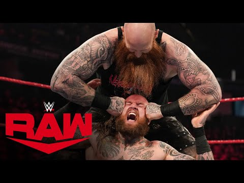 Aleister Black Vs. Erick Rowan: Raw, Feb. 17, 2020