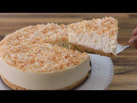 No-Bake Coconut Cheesecake Recipe