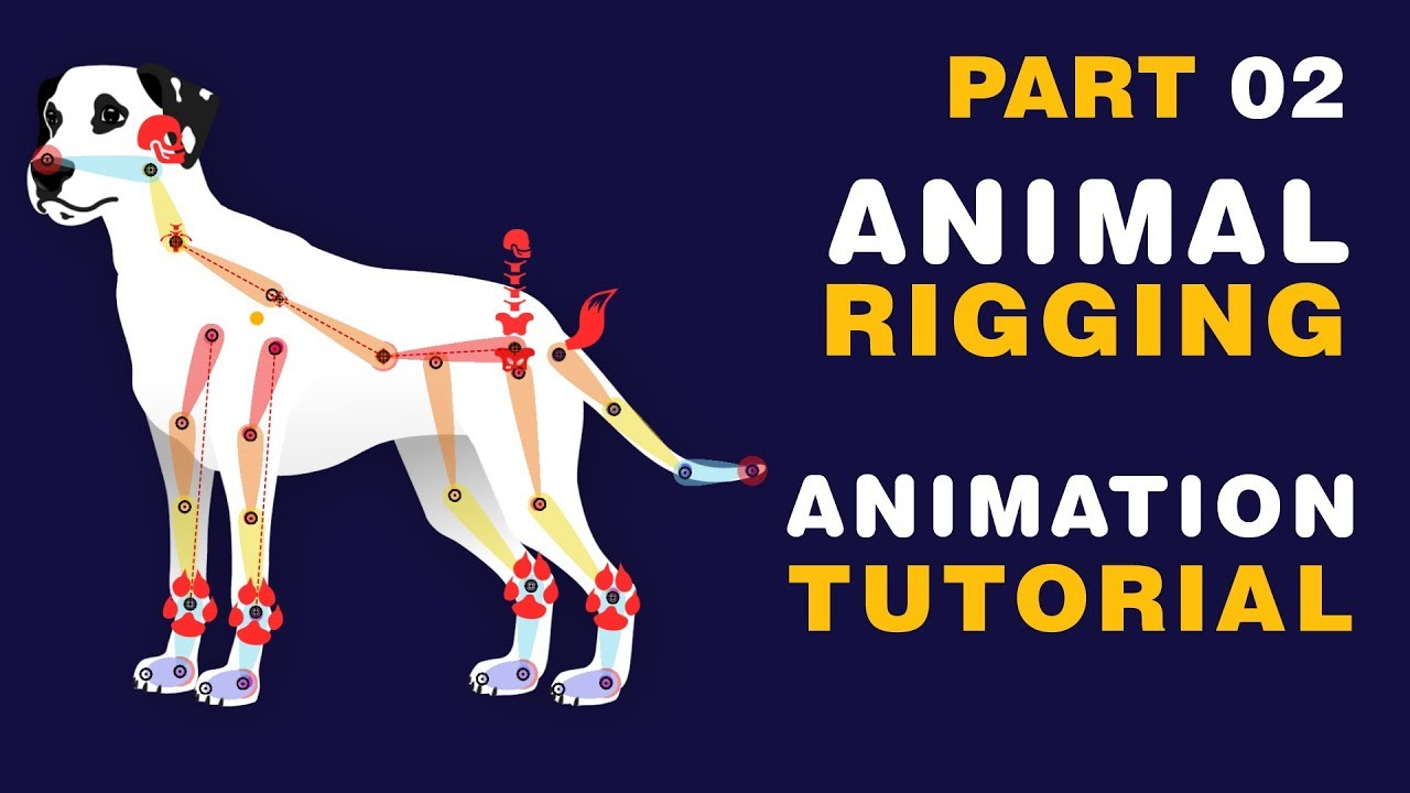 DUIK 16 - Animal Rigging & Animation in After Effects Tutorial - Part 02
