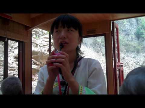 A Chinese folk song along the Yangtze River, China