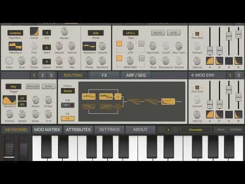 ipad synth   iPad Music Apps Blog - Music app reviews, news