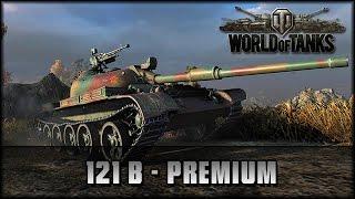 World of Tanks - Live: 121B - Kampagnenpanzer [ deutsch   gameplay ]