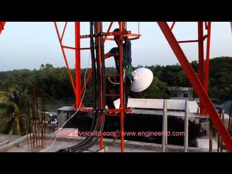 7.8 Miles PTP Radio Link By PowerBeam AC 400 ISO