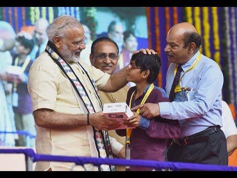 PM Narendra Modi at Samajik Adhikarita Shivir in Rajkot, Gujarat