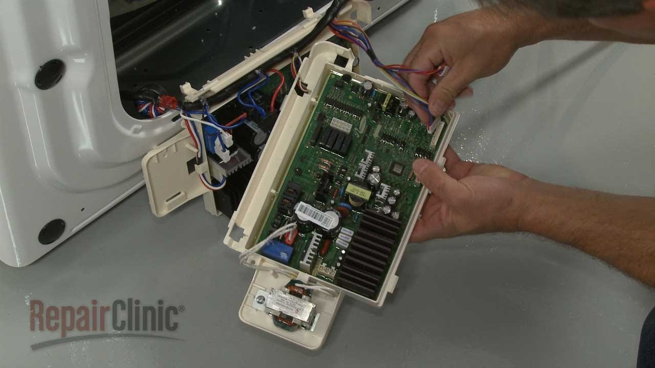 Samsung Washing Machine Main Control Board #DC9201063A  YouTube