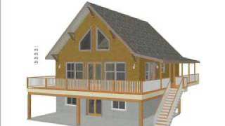 Free Cabin Plans, Blueprints, Construction Documents