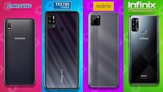 5 BEST SMARTPHONE UNDER ₹8,000 ▶ Feat  Realme, SAMSUNG, Redmi, & Infinix