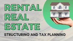 Rental Real Estate - Structuring & Tax Planning with Mark J. Kohler | CPA, Attorney