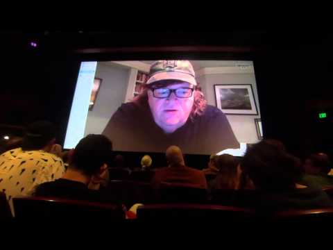 Where To Invade Next Skype Q&A W/Director Michael Moore Part 1