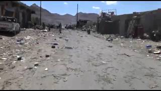 مقطع فيديو لمجزرة سوق خلقه بمديرية نهم ظهر اليوم اليمن صنعاء