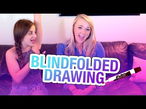 Blindfolded Drawing Game (w/ Meghan...