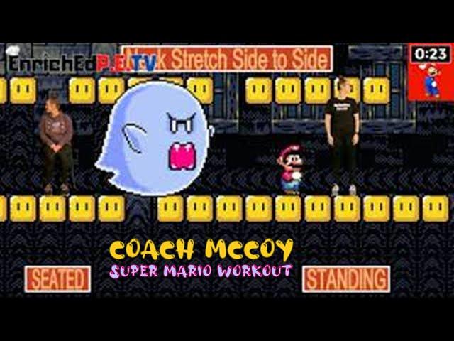 Coach McCoy- A.P.E.: Super Mario Workout (Seated & Standing)