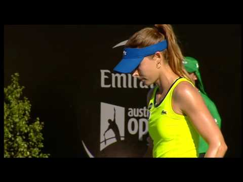 Alize Cornet vs Johanna Larsson - Full Match Replay