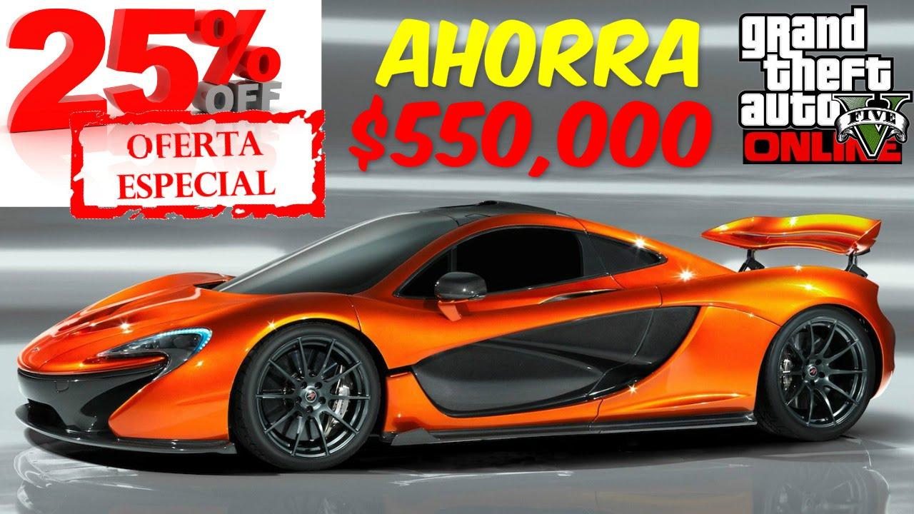 GTA 5 Online: 25% Descuento Progen T20 U Otro Auto De