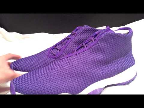 DS 2014 Nike Air Jordan Future Dark Concord Sz 11.5 Shoes Sneakers Unboxing Review