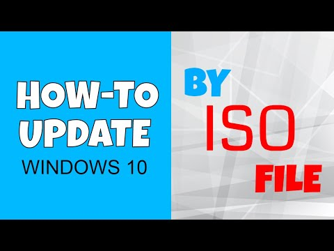 How To Update To Windows 10 1903 By ISO File