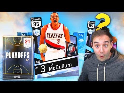 NBA 2K17 My Team DIAMOND CJ MCCOLLUM! GOT A DIAMOND BEAST PLAYER!