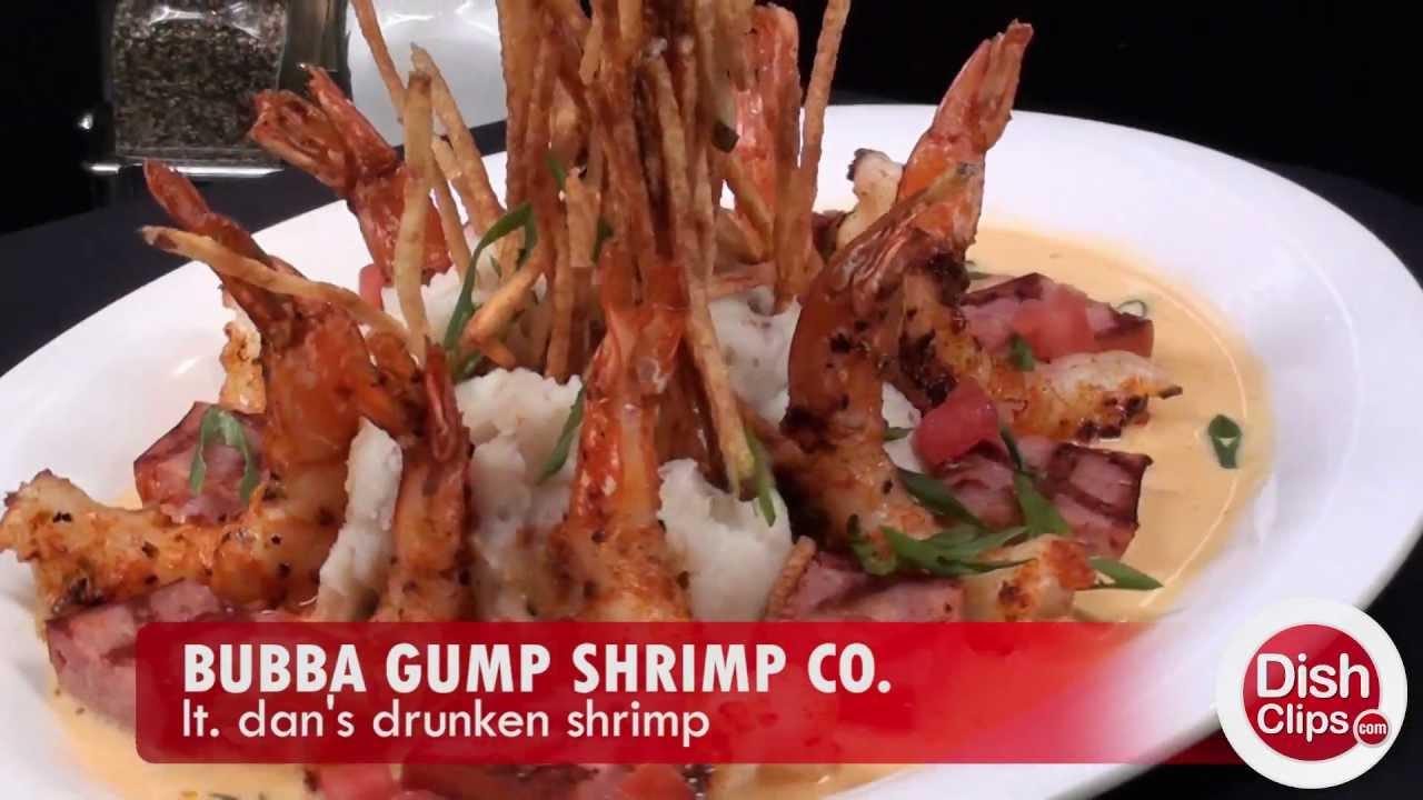 Bubba Gump Shrimp Co. - Lt. Dan's Drunken Shrimp - YouTube