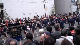 川口市と鳩ヶ谷市が合併1周年を記念して、日光御成道まつりが行われま...