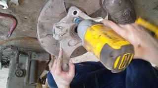 Замена переднего подшипника ступицы на OPEL Insignia