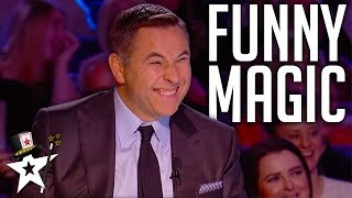 Download FUNNIEST Magicians EVER On Got Talent | Magicians Got Talent Mp3 and Videos