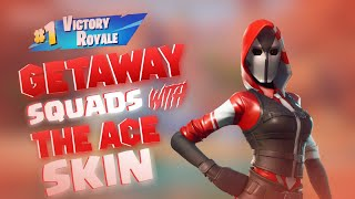 Fortnite Mobile Getaway Squads With Ace Skin