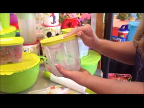 Tupperware Fridgesmart Containers - New Design & Features for maximized Food Storage Life!