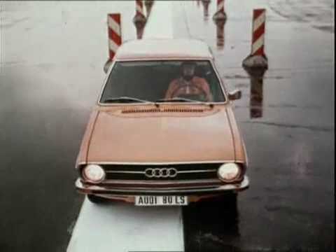 Audi 80 B1 Commercial