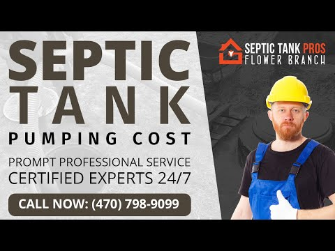 Septic System Pump Cost in Maximo
