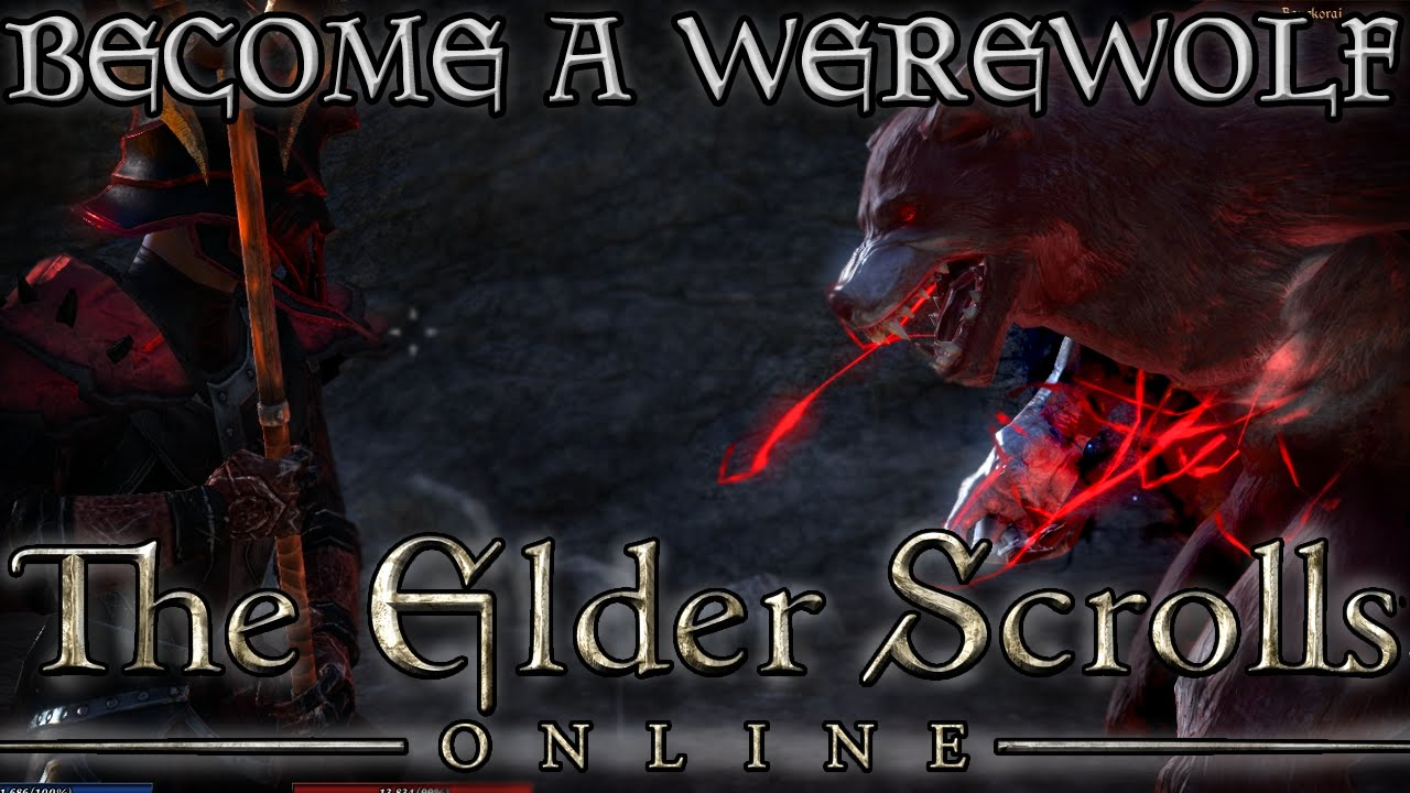 HOW to Become a WEREWOLF in ESO! (Elder Scrolls Online Quick Tips for PC,  PS4, and XB1)