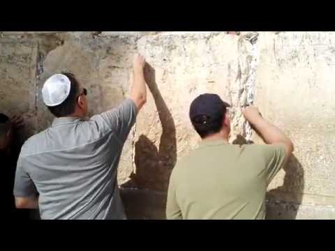 The story of the Western Wall (including hidden locations), Jerusalem, Israel