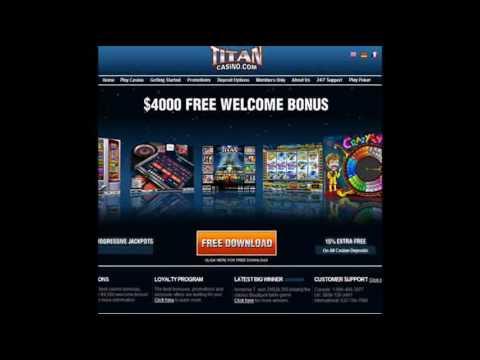 Casino Review Portal Free $4000 Bonus Titan Casino