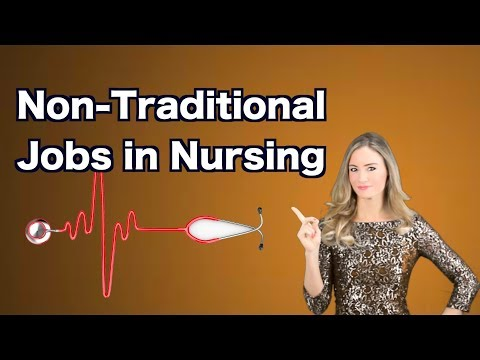 Inspiring Non Traditional Jobs In Nursing