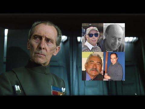 Comparando las Voces de: Wilhuff Tarkin (Latinoamérica) (Doblaje) Star Wars