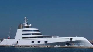 Yacht A visiting Palma de Mallorca