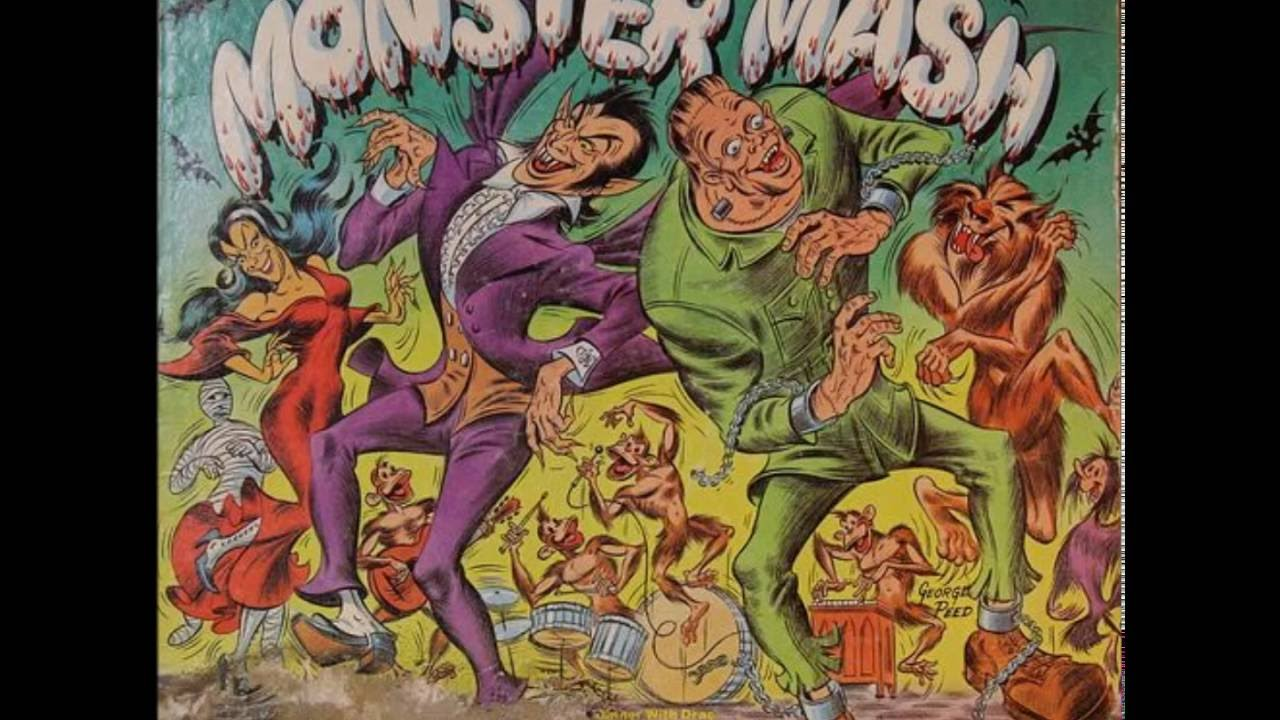 bobby boris pickett - monster mash hq halloween novelty songs - youtube