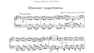 Moritz Moszkowski: Chanson Nap…
