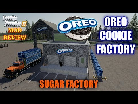 Oreo Cookie Factory & Sugar Factory Mod Review Farming Simulator 19