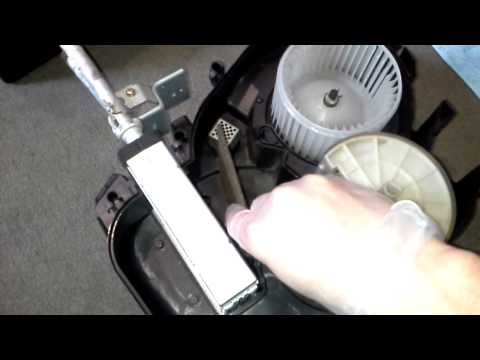 How a car heater & air vent selector works