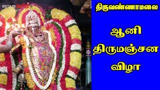 Thiruvannamalai   ஆனிதிருமஞ்சன விழா   சிவகாமசுந்தரி சமேத நடராஜர் பெருமான்