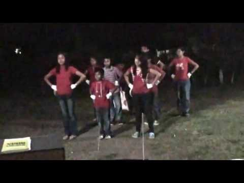 Leling alliance church:Youth Camp.Cheer Dance.Red Team