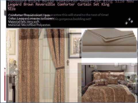King bed comforter measurements