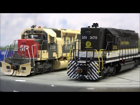Review: Athearn RTR SD40 And SD40R W/Economi Sound&DCC!