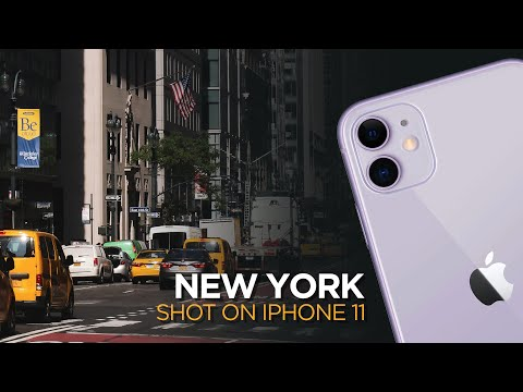 NEW YORK. Shot on iPhone 11. Sights & sounds in [4K] | smashpop