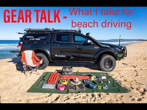 Gear Talk - What I take for beach driving