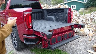 2019 GMC Sierra 1500 first drive in Canada Part 2, towing trailers, hauling loads