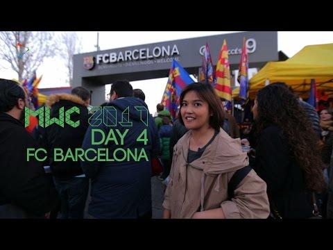 Tribune VIP Camp Nou - FC Barcelona vs Gijon   #MWC2017 Barcelona Day 4