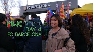 Tribune VIP Camp Nou - FC Barcelona vs Gijon | #MWC2017 Barcelona Day 4
